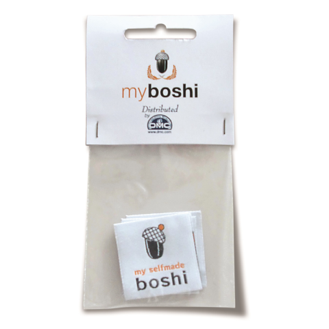 Thermal Labels - For DMC Myboshi Crochet Beanie Hats (Pack of 2)